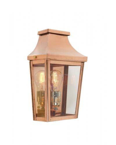 Elstead Lighting Norlys Chelsea 1 Light Outdoor Half Wall Lantern In Copper Finish